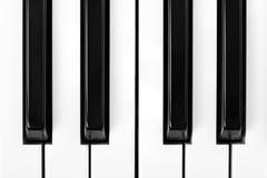 Klavier-Tasten Stockbilder