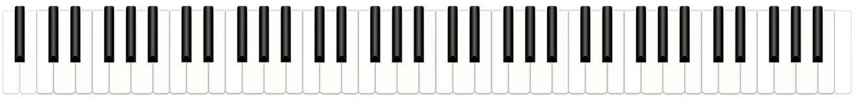 Klavier-Tasten Lizenzfreie Stockfotos