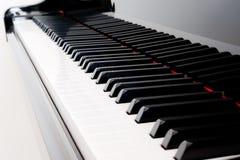Klavier-Tasten Lizenzfreies Stockfoto