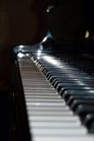 Klavier-Tasten Stockfotografie