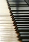 Klavier-Tasten lizenzfreies stockbild