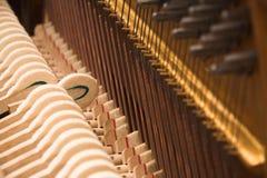 Klavier vom Innere Stockfotos