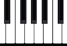 Klavierabbildung Stockfoto