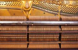 Klavierinnenraum Lizenzfreie Stockfotos