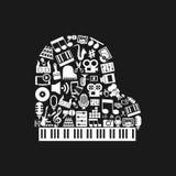 Klavierkunst Lizenzfreie Stockbilder