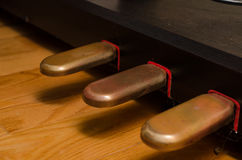 Klavierpedale Lizenzfreies Stockfoto