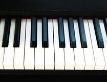 Klavierschlüssel Lizenzfreie Stockfotos