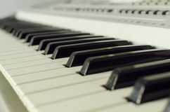 Klavierschlüssel Lizenzfreies Stockbild