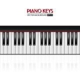 Klavierschlüssel, Vektorhintergrund Lizenzfreie Stockfotografie