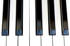 Klavierschlüssel Stockbild