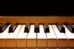 Klaviertastatur Stockfotografie