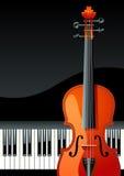 Klaviertastatur lizenzfreie abbildung