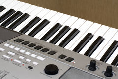 Klaviertastatur Stockbild