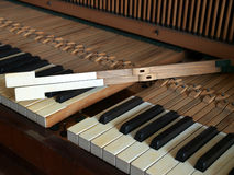 Klaviertastaturreparatur Lizenzfreies Stockfoto