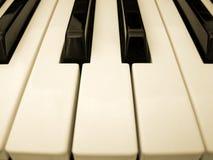 Klaviertasten Stockfotografie
