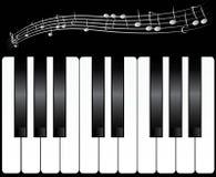 Klaviertasten Stockbilder