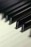 Klaviertasten Lizenzfreie Stockfotografie
