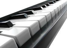 Klaviertasten. Lizenzfreies Stockbild