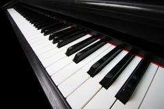 Klaviertasten stockfotos