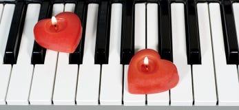 Klaviertasten Lizenzfreies Stockbild