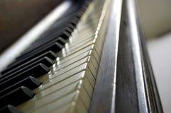 Klaviertasten Lizenzfreie Stockfotos