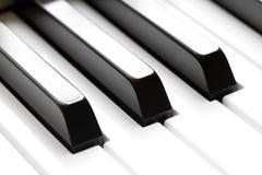KlavierTasten Makro stockbild