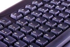 klawiatura komputera czarna Obraz Royalty Free