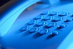Klawiatura na kabla naziemnego telefonie Zdjęcia Stock