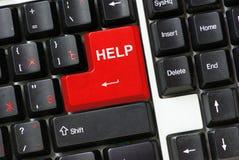 klawiatura pomocy Fotografia Royalty Free