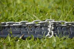 Klawiatura przykuwająca na trawie Zdjęcie Royalty Free