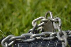 Klawiatura przykuwająca na trawie Fotografia Royalty Free