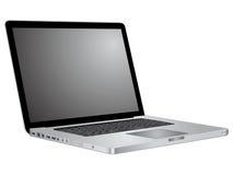 klawiaturowego laptopu otwarty parawanowy seans Obrazy Royalty Free