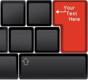 klawiaturowy laptop Obrazy Stock