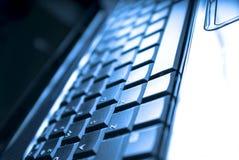 klawiaturowy laptop Zdjęcia Stock