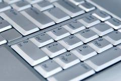 klawiaturowy laptop Fotografia Royalty Free