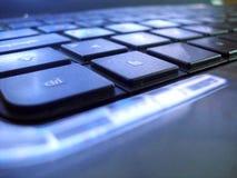 Klawiaturowy laptop Zdjęcie Royalty Free