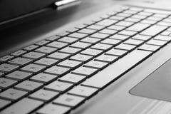 klawiaturowy laptop Zdjęcia Royalty Free