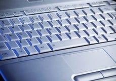 klawiaturowy laptop s Obraz Royalty Free