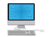 klawiaturowy monitor Zdjęcia Stock
