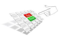 klawiaturowy nadgarstek Zdjęcia Stock