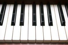 klawiaturowy pianino Obraz Royalty Free