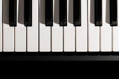 klawiaturowy zamknięty klawiaturowy pianino Fotografia Stock