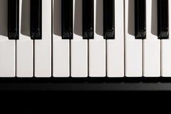 klawiaturowy zamknięty klawiaturowy pianino Fotografia Royalty Free