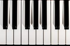 klawiaturowy zamknięty klawiaturowy pianino Obraz Royalty Free