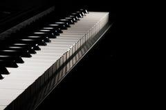 klawiaturowy zamknięty klawiaturowy pianino Zdjęcia Stock