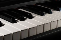 klawiaturowy zamknięty klawiaturowy pianino Zdjęcie Stock
