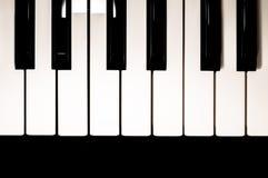 klawiaturowy zamknięty klawiaturowy pianino Obrazy Stock