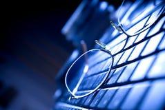 klawiatury czytanie szkła Zdjęcia Royalty Free