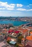 Klaxon d'or à Istanbul image libre de droits