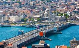 Klaxon d'or à Istanbul image stock